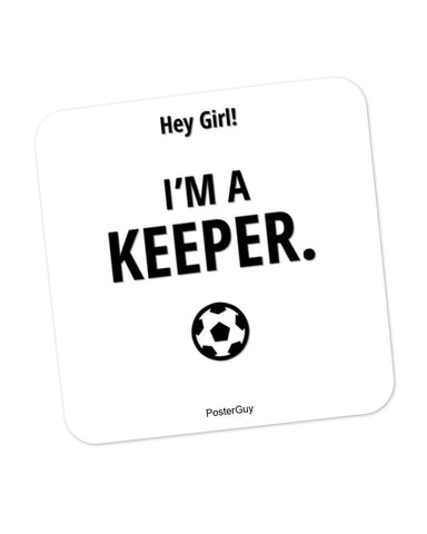I Am A Keeper Coaster Online India