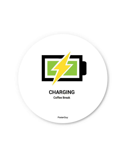 Stay Charged Battery Fridge Magnet