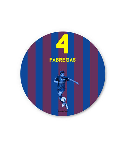 Fabregas Fridge Magnet