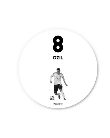 Ozil Fridge Magnet