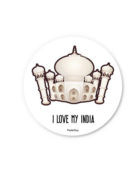 Taj Mahal Fridge Magnet