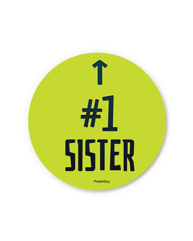 Number 1 Brother Fridge Magnet Gift