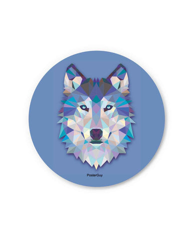 Animal Wolf Fridge Magnet