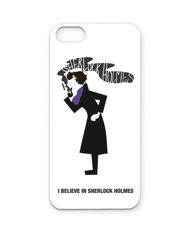 PosterGuy I BELIEVE IN SHERLOCK HOLMES iPhone case/cover