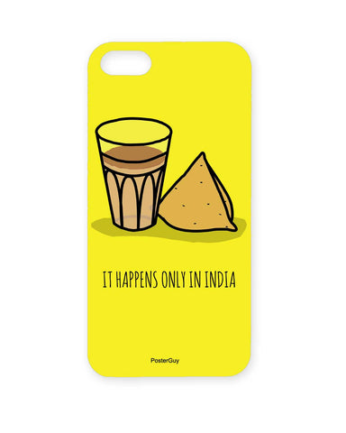 It Happens Only in India Tea and Samosa iPhone 5/5S Case