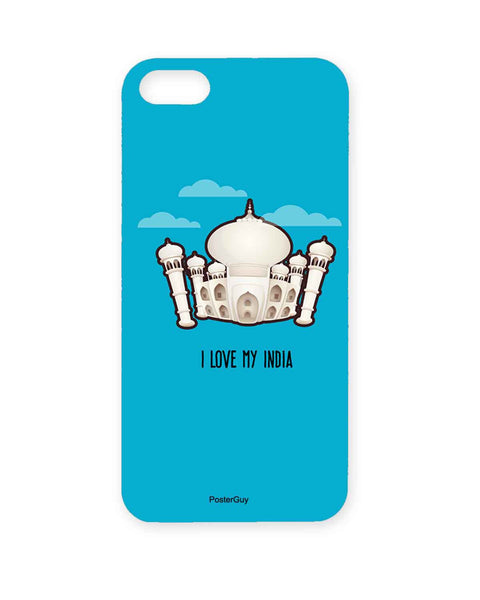 PosterGuy Taj Mahal I Love My India  Iphone 5 / 5S Case / Cover