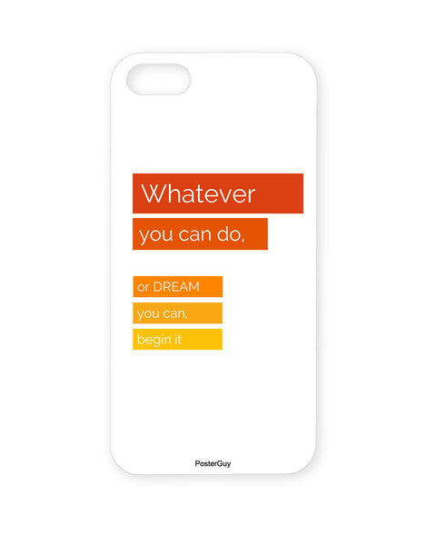 PosterGuy Entrepreneur Vision Motivational /Impirational Quote  Iphone 5 / 5S Case / Cover
