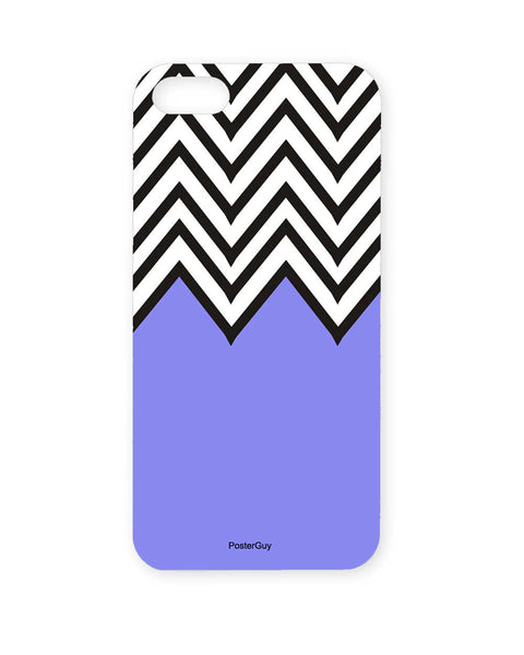PosterGuy Abstract Art Blue Black And White Designer  Iphone 5 / 5S Case / Cover