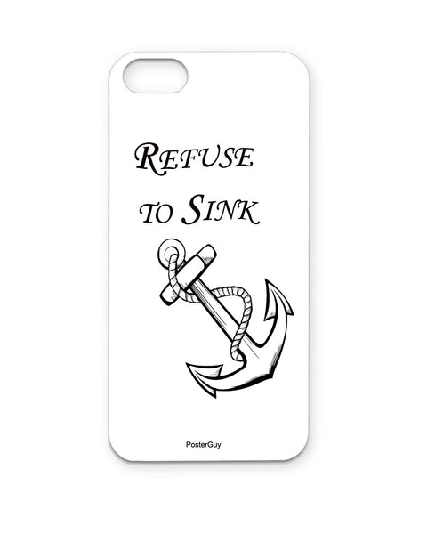 PosterGuy Resuce To Sink Anchor Motivational/Inspirational Iphone 5 / 5S Case / Cover