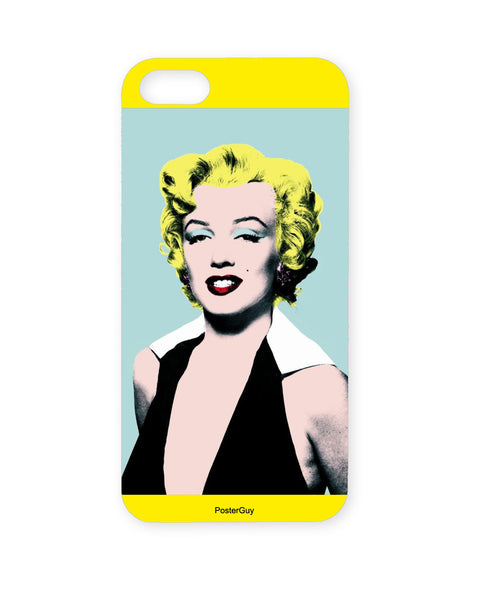 PosterGuy Marilyn Monroe Yellow Background  Iphone 5 / 5S Case / Cover
