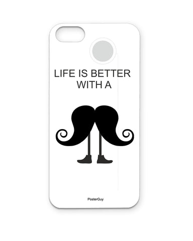 PosterGuy Be A Man (Mard) Mousetache  Iphone 5 / 5S Case / Cover