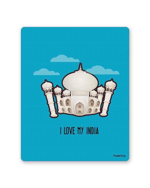 Mouse Pads | Taj Mahal I Love My India Mouse Pad Online India | PosterGuy.in