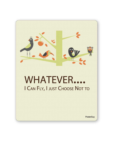 Mouse Pads | I Can Fly Motivational Birds Mouse Pad Online India | PosterGuy.in