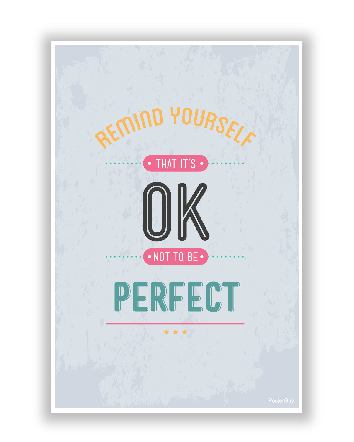 Remind Yourself, Perfect Poster