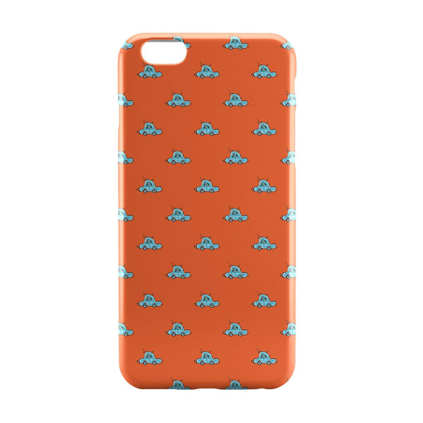 iPhone 6 Case & iPhone 6S Case | Beetle Blue Car Pattern iPhone 6 | iPhone 6S Case Online India | PosterGuy