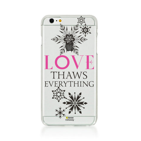 Disney Princess Frozen (Clear / Love Thaws Everything) iPhone 6 / 6S Cases