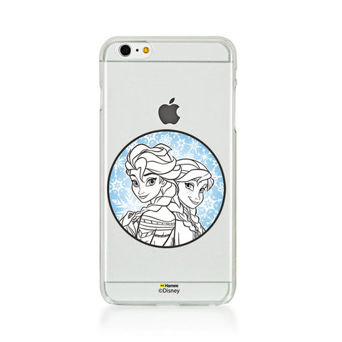 Disney Princess Frozen (Clear / Elsa Anna Circle) iPhone 5 / 5S Cases