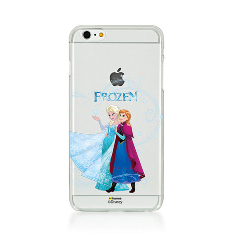 Disney Princess Frozen (Clear / Elsa Anna Logo) iPhone 5 / 5S Cases