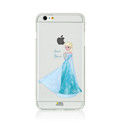 Disney Princess Frozen (Clear / Elsa Snow Queen) iPhone 5 / 5S Cases