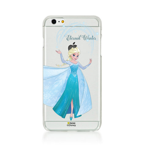 Disney Princess Frozen (Clear / Elsa Eternal Winter) iPhone 5 / 5S Cases