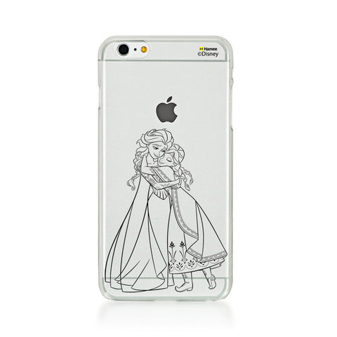 Disney Princess Frozen (Clear / Elsa Anna Outline) iPhone 6 / 6S Cases