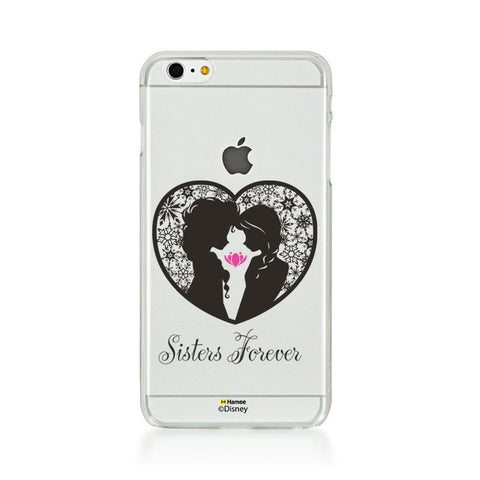 Disney Princess Frozen (Clear / Elsa Anna Sisters Forever) iPhone 5 / 5S Cases