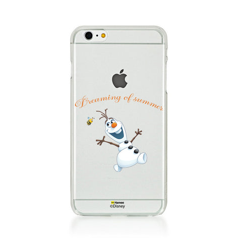 Disney Princess Frozen (Clear / Olaf Dreaming) iPhone 6 Plus / 6S Plus Covers