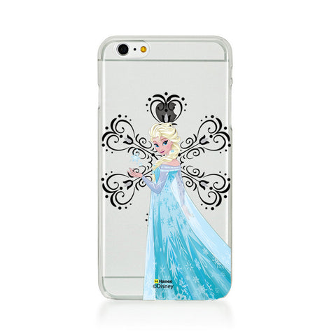 Disney Princess Frozen (Clear / Elsa Snowflake) iPhone 5 / 5S Cases