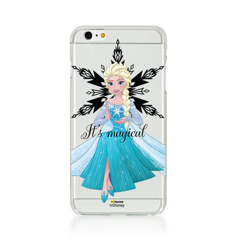 Disney Princess Frozen (Clear / Elsa Magical) iPhone 5 / 5S Cases