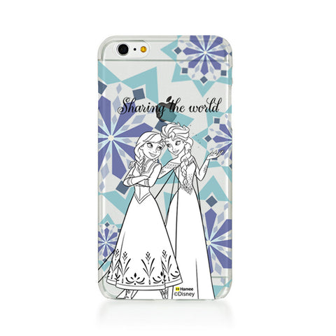 Disney Princess Frozen (Clear / Elsa Anna Sharing) iPhone 6 Plus / 6S Plus Covers