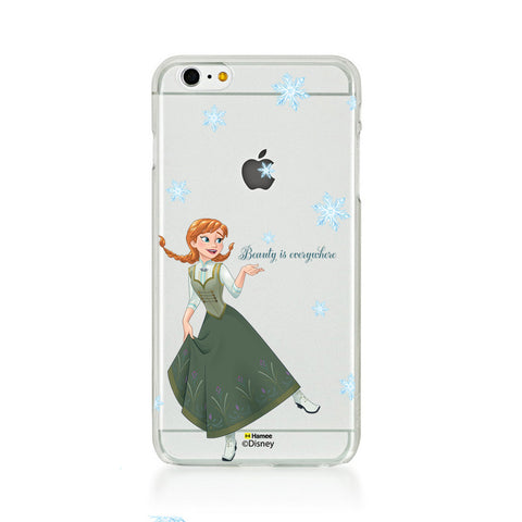 Disney Princess Frozen (Clear / Anna Beauty) iPhone 5 / 5S Cases