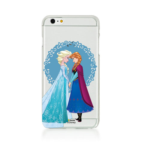 Disney Princess Frozen (Clear / Elsa Anna Blue) iPhone 5 / 5S Cases