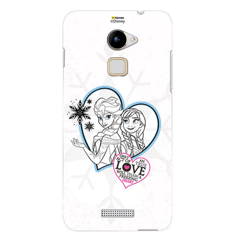 Disney Princess Frozen (Elsa Anna / Hearts) Coolpad Note 3