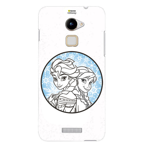 Disney Princess Frozen  (Elsa Anna / Circle) LeEco Le 2