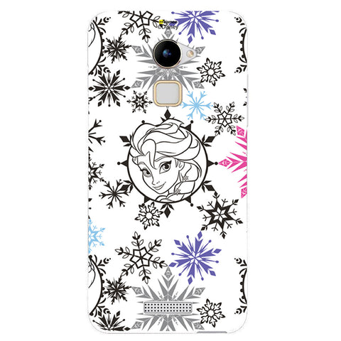 Disney Princess Frozen (Elsa / Colourful Flakes) Coolpad Note 3 Lite