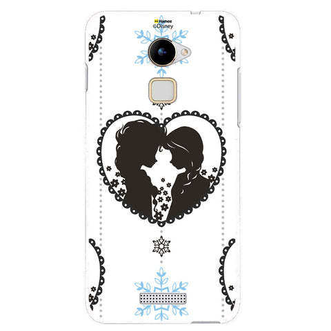 Disney Princess Frozen (Anna Elsa / Hanging Heart) Coolpad Note 3 Lite
