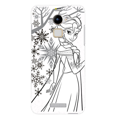 Disney Princess Frozen (Elsa / Outline) Coolpad Note 3 Lite