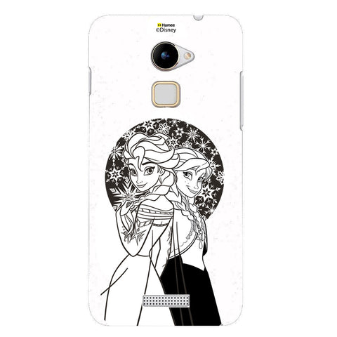 Disney Princess Frozen (Elsa Anna / Black White) Coolpad Note 3