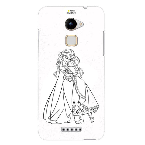 Disney Princess Frozen (Anna Elsa / Outline) Coolpad Note 3 Lite