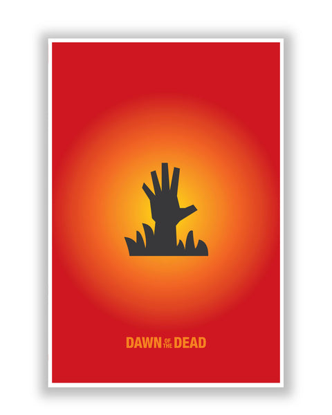 Buy Movie Posters Online | Dawn Of The Dead Inspired Movie Poster | PosterGuy.in