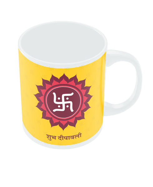 Happy Diwali Swastik Mug