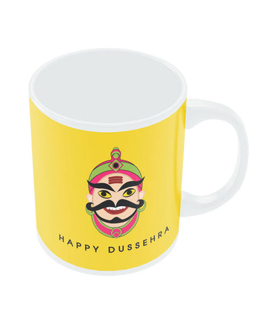 Happy Dusshera Ravan Ten Face Mug