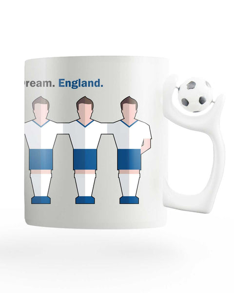 Team England Rotating Football Mug