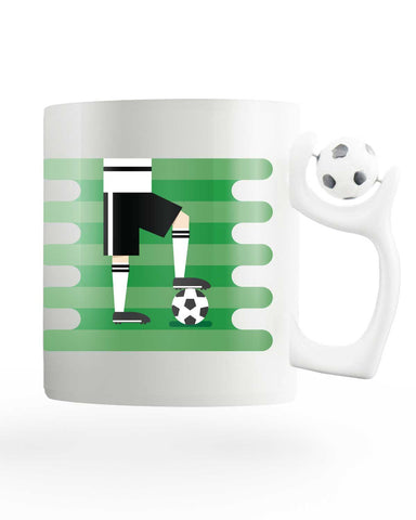 Germany Field Rotating Football Mug