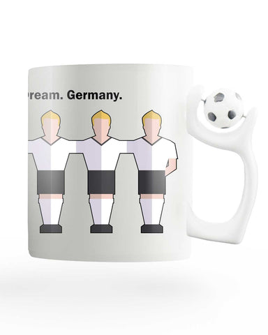 Team Germany Rotating Football Mug