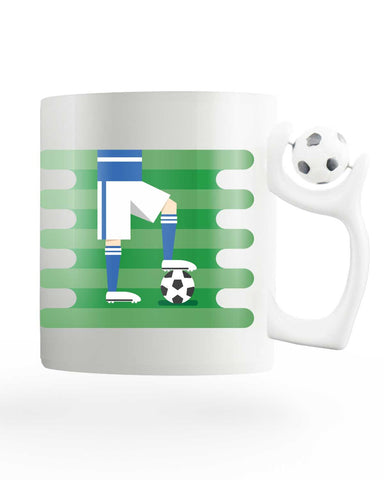 Italy field Rotating Football Mug