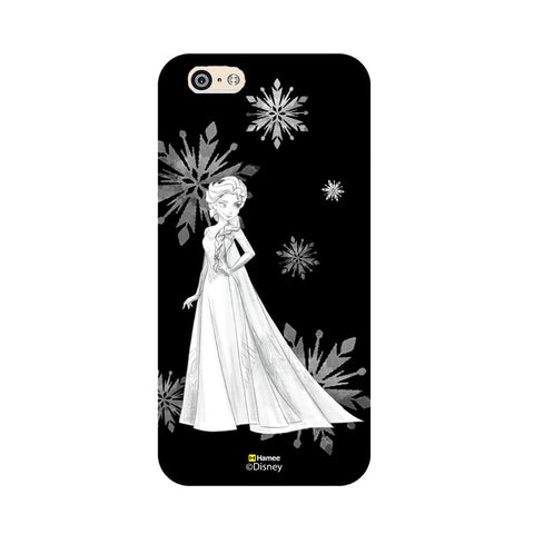 Disney Princess Frozen (Elsa / Black White) iPhone 5 / 5S Cases
