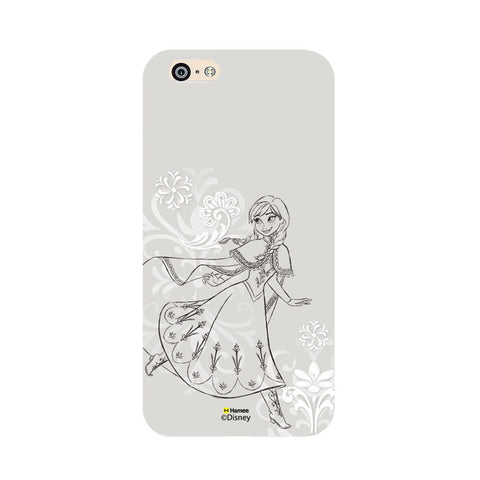 Disney Princess Frozen (Anna / Sketch) iPhone 5 / 5S Cases