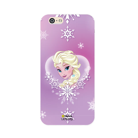 Disney Princess Frozen (Elsa / Purple) iPhone 5 / 5S Cases