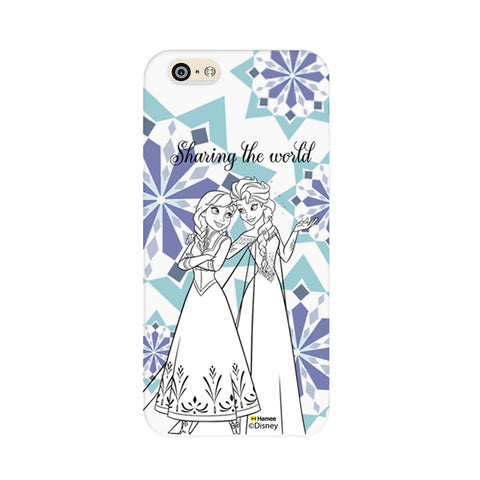 Disney Princess Frozen (Elsa Anna / Sharing) iPhone 5 / 5S Cases